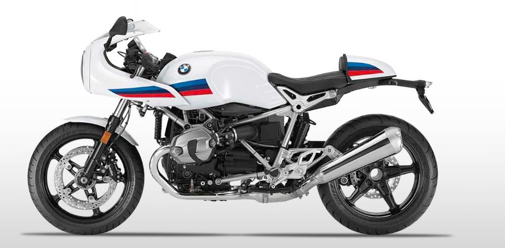 R nineT Racer blanca